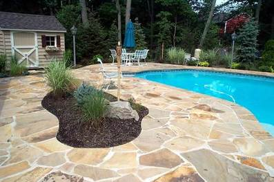 pool stamped concrete addition plano tx