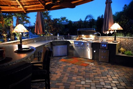 more outdoor kitchens