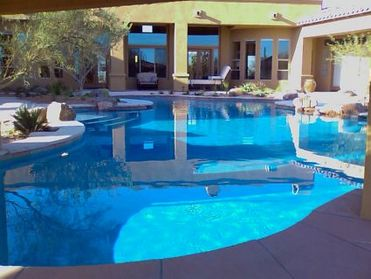 Swimming pool remodeling, spa jacuzzi